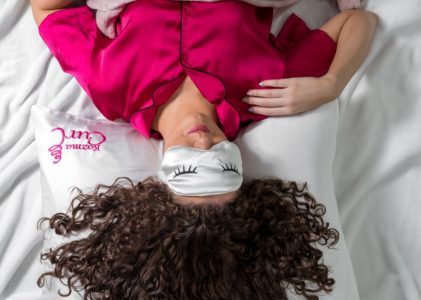 How To Sleep With Curly Hair – 8 Tips